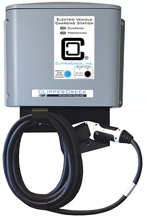 CS-40-SG2 EV charging station utility connected