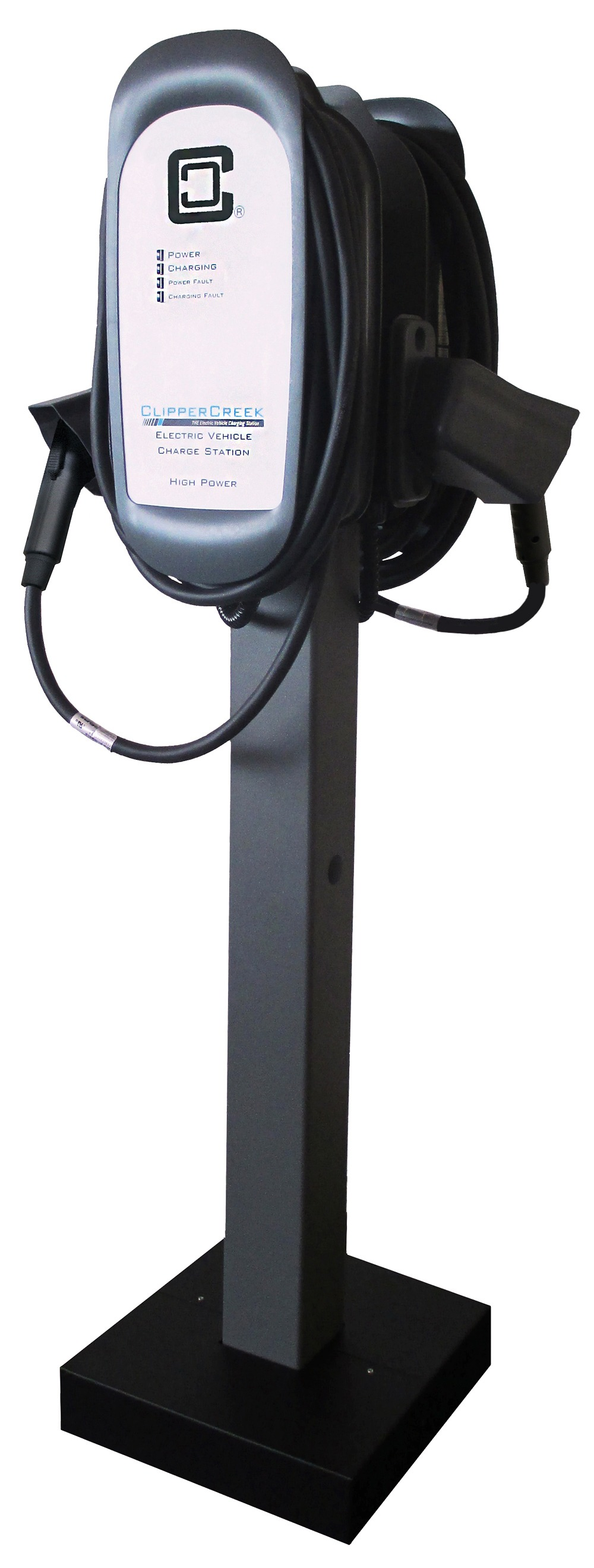 mounting solution pedestal for commercial evse