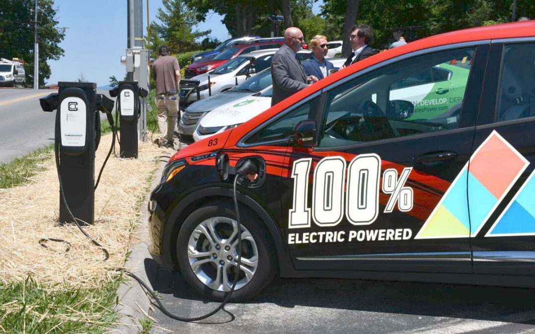 Eight New ClipperCreek Stations at ETSU