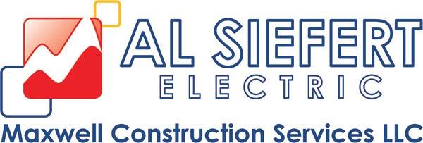 AL Siefert electric Maxwell Construction Services LLC logo