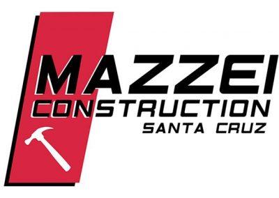 mazzei construction santa cruz logo