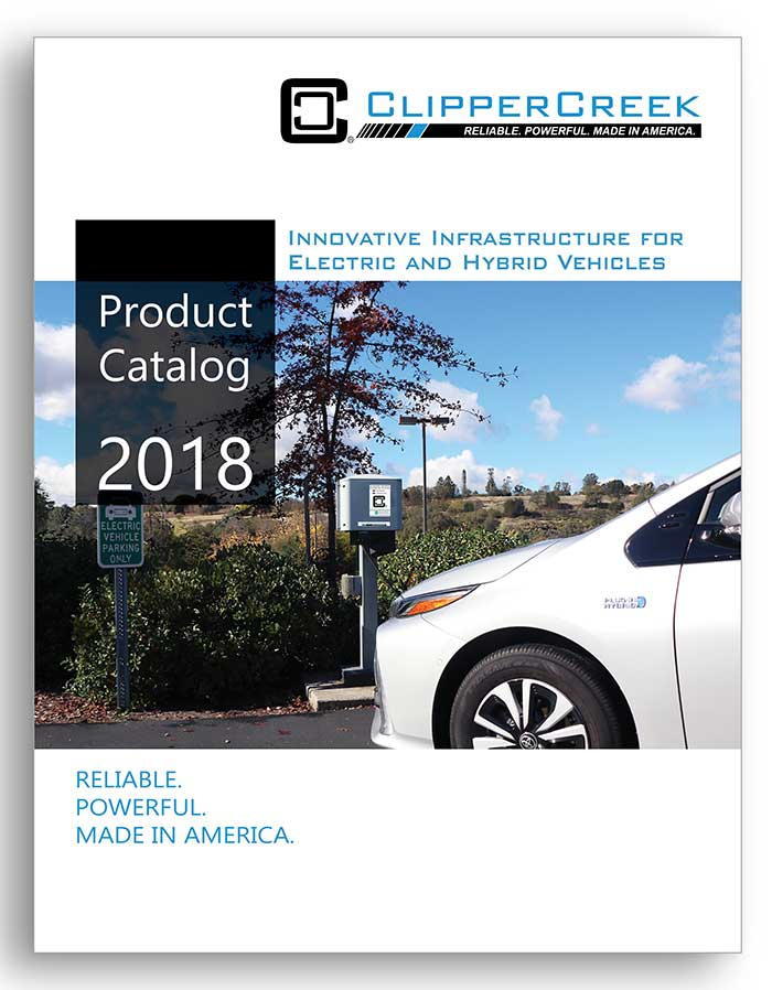 ClipperCreek 2018 Product Catalog Cover