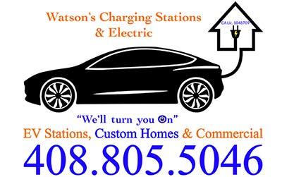 Watson's Charging Stations