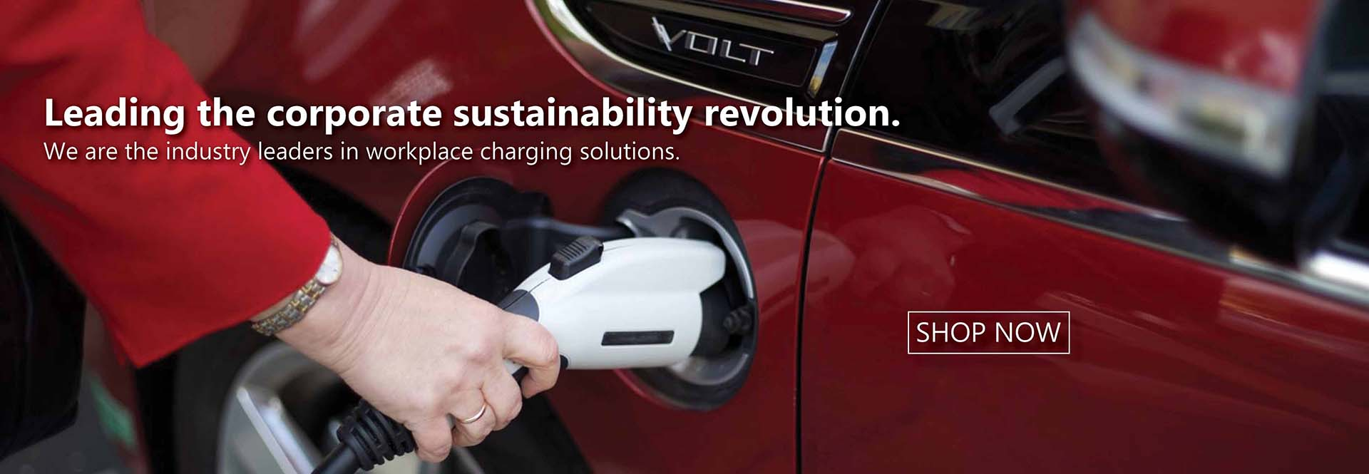 Chevy Volt with evse plugged in