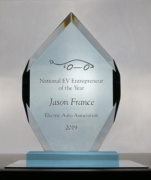 EAA Entrepreneur of the Year 2019 Jason France ClipperCreek